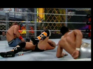 John Cena vs. CM Punk vs. Alberto Del Rio Hell in a Cell